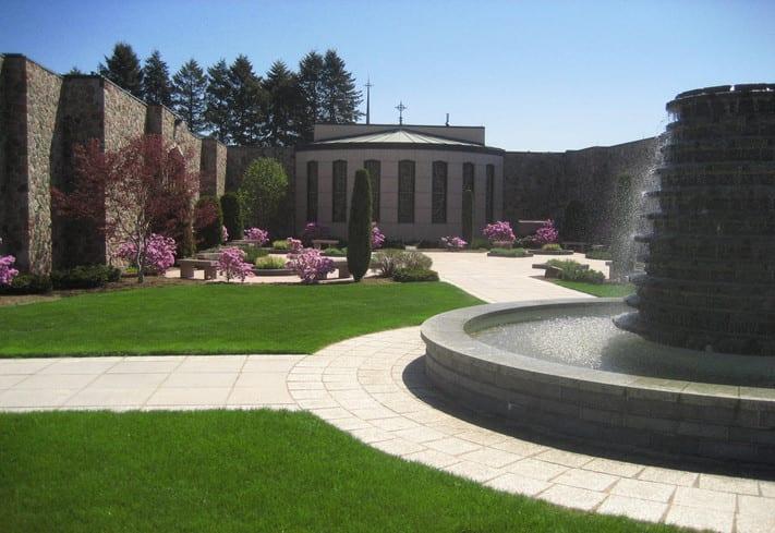 cemetery landscape design special features