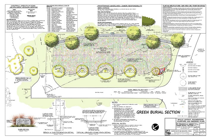 grever and ward green burial