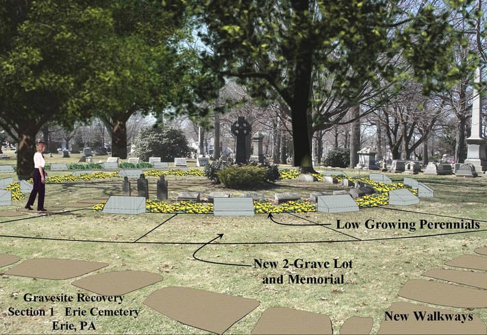 cemetery landscape design space recovery