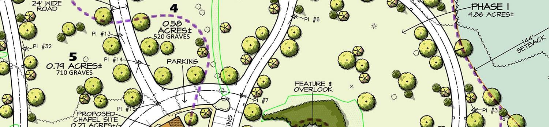 cemetery design master planning