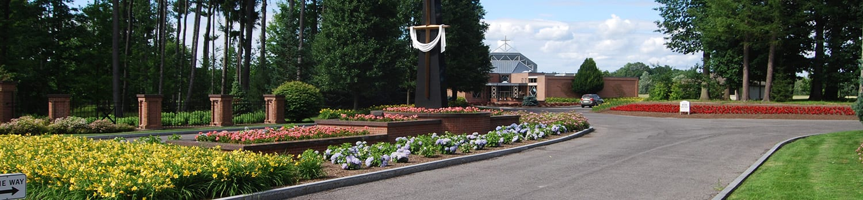 special features cemetery landscape design
